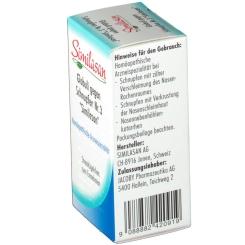 Similasan Globuli gegen Schnupfen Nr. 3