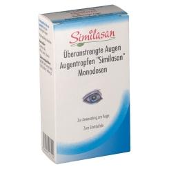 Similasan Überanstrengte Augen Augentropfen Monodosen