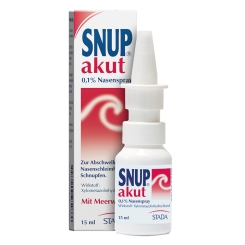 Snup® akut 0,1% Nasenspray