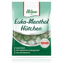 Soldan® Euka-Menthol Hütchen zuckerhaltig