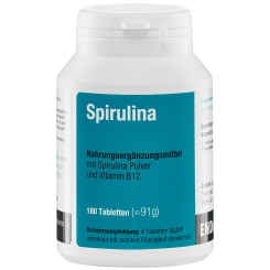 Spirulina Tabletten