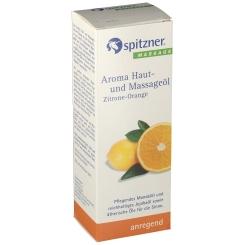 Spitzner® Haut. und Massageöl Zitrone Orange