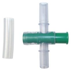 Standardkegel mit Ablaßhahn und Überleitungsschlauch, steril