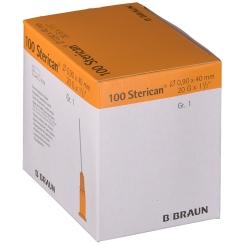 Sterican® Standardkanüle Gr. 1 G20 x 1 1/2 Zoll 0,90 x 40 mm gelb