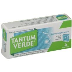 Tantum Verde® Pastillen mit Eukalyptusgeschmack