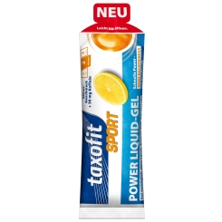 taxofit® Sport Power Liquid-Gel Zitrus