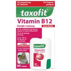 taxofit® Vitamin B12 Energie + Leistung