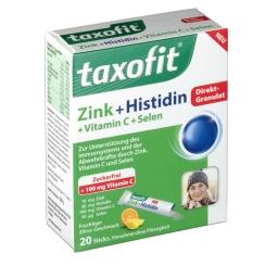 taxofit® Zink + Histidin Depot Granulat
