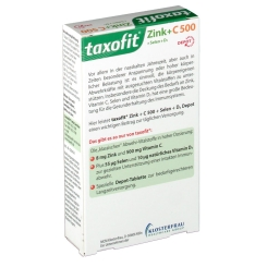 taxofit® Zink + Vitamin C 500 + Selen + D3 Depot Tabletten