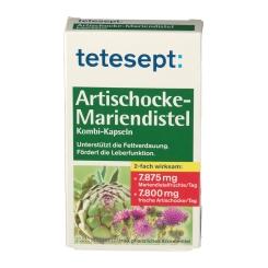 tetesept® Artischocke Mariendistel Kombi Kapseln