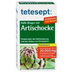 tetesept® Galle-Dragees mit Artischocke