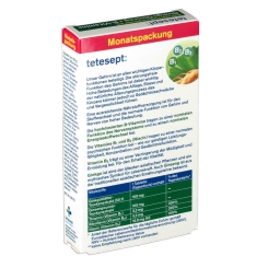 tetesept® Ginkgo Ginseng + B-Vitamine