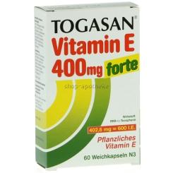 Togasan® Vitamin E 400 mg forte Kapseln