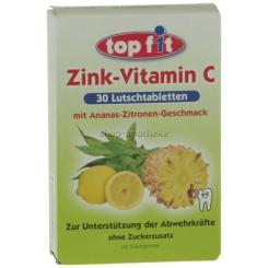 Topfit Zink Vitamin C Lutschtabletten
