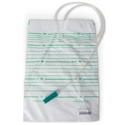 Urin-Auffangbeutel 2 Liter unsteril ohne Rücklaufsperre und Ablauf