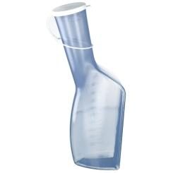 Urinflasche für Männer glasklar 1 L