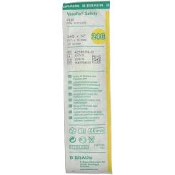 Vasofix® Safety 24 G 0,7 x 19 mm gelb PUR