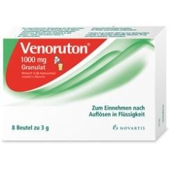 VENORUTON Granulat 1000mg