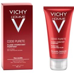 VICHY Homme Code Pureté Feuchtigkeitspflege