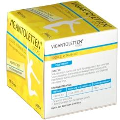 VIGANTOLETTEN® Sticks 1000 I.E. Vitamin D3 Zitrone