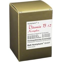 VITAMIN B12 + B6 + Folsäure Komplex Kapseln