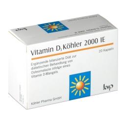Vitamin D3 Köhler 2000 IE Kapseln
