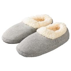 Warmies® Slippies Comfort grau 37-41