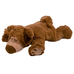 Warmies® Wärme Stofftier Sleepy Bear Braun