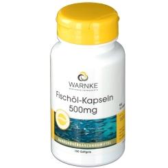 WARNKE Fischöl-Kapseln 500 mg
