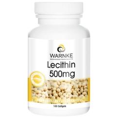 WARNKE Lecithin 500 mg