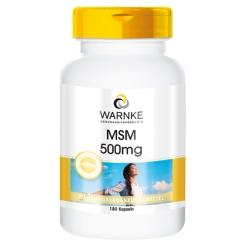 WARNKE MSM 500 mg