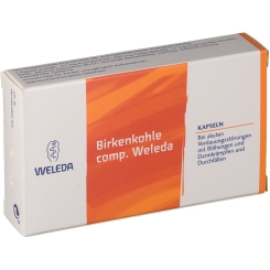 WELEDA Birkenkohle comp. Kapseln