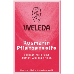 Weleda: Rosmarin Pflanzenseife