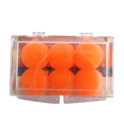 WELLNOISE Ohrenstopfen Silikon orange