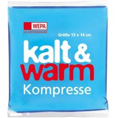 WEPA Kalt und Warm Kompresse 13 x 14 cm