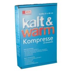 WEPA Kalt und Warm Kompresse 21 x 40 cm