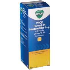 WICK Formel 44 Hustenstiller-Sirup mit Honig