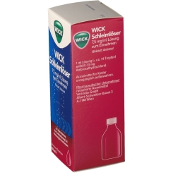 WICK Schleimlöser 7,5 mg/ml