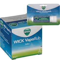 WICK VapoRub und Inhalierstift