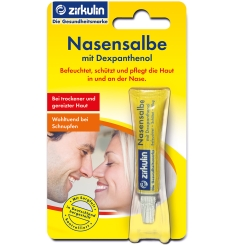 Zirkulin Nasensalbe mit Dexpanthenol