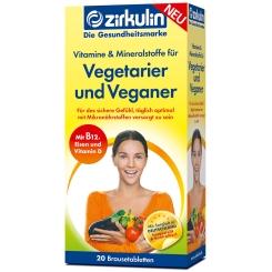 Zirkulin Vitamine und Mineralstoffe für Vegetarier und Veganer