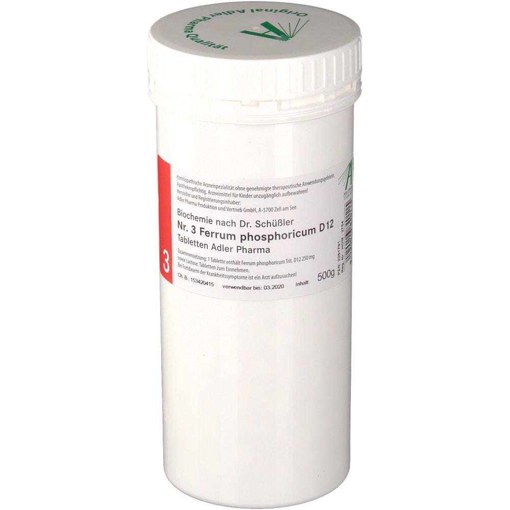 Adler Schüssler Salze Nr 3 Ferrum Phosphoricum D12 Shop Apothekeat
