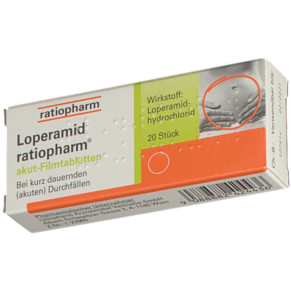 loperamid ratiopharm akut filmtabletten shop. Black Bedroom Furniture Sets. Home Design Ideas