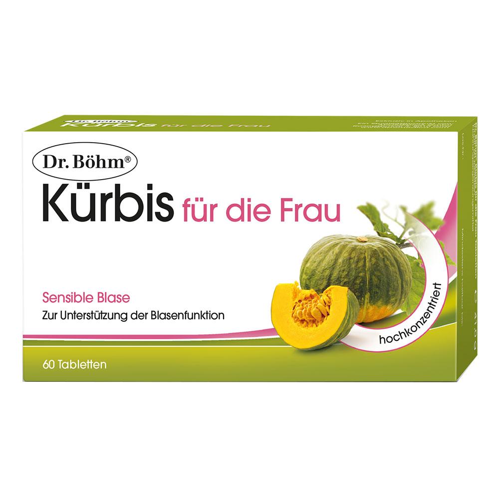 Dr. Böhm® Kürbis Tabletten für die Frau - shop-apotheke.at