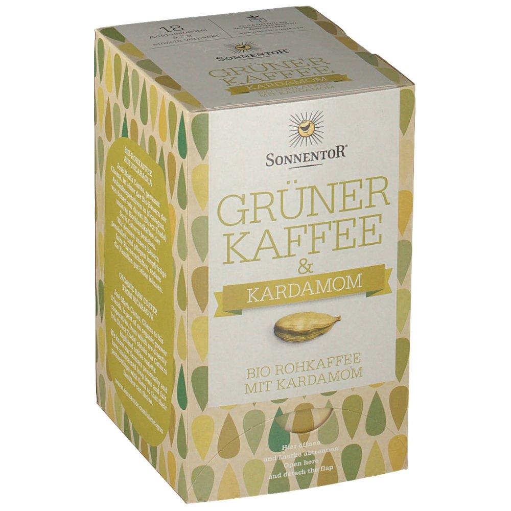 Grüner Kaffee Mit Ingwer sonnentor grüner kaffee mit kardamom shop apotheke at