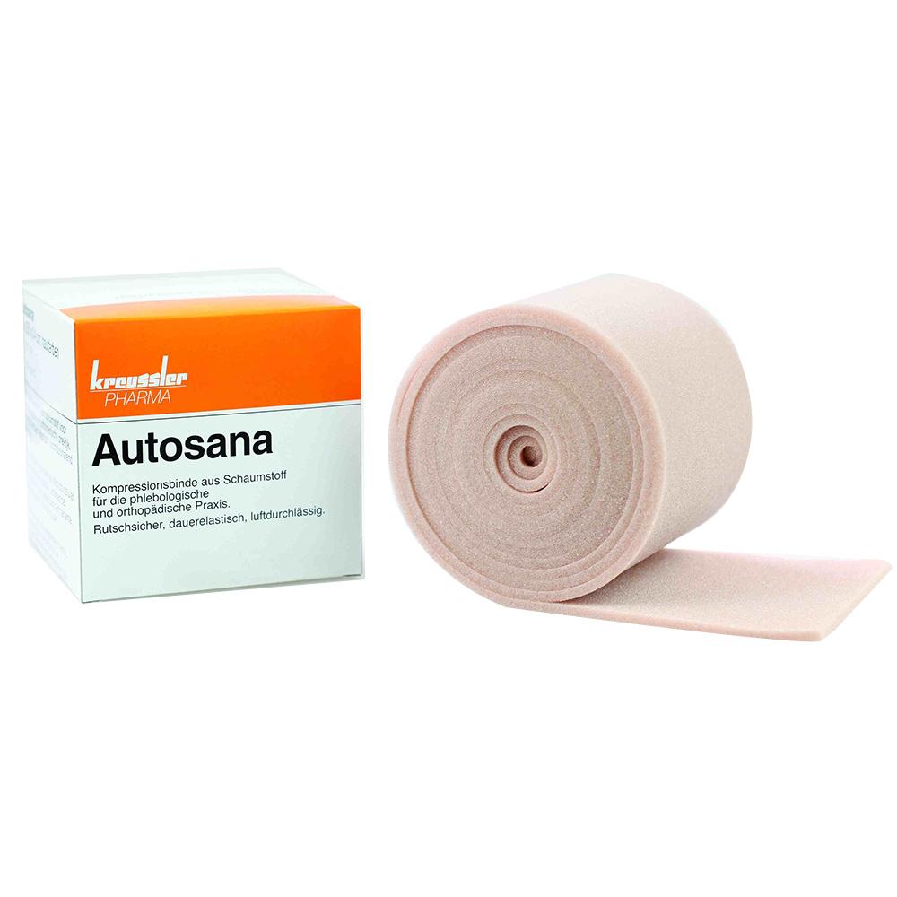 autosana kompressionsbinde aus schaumstoff 10 cm x 2 5 m x 0 4 cm hautfarbend shop. Black Bedroom Furniture Sets. Home Design Ideas