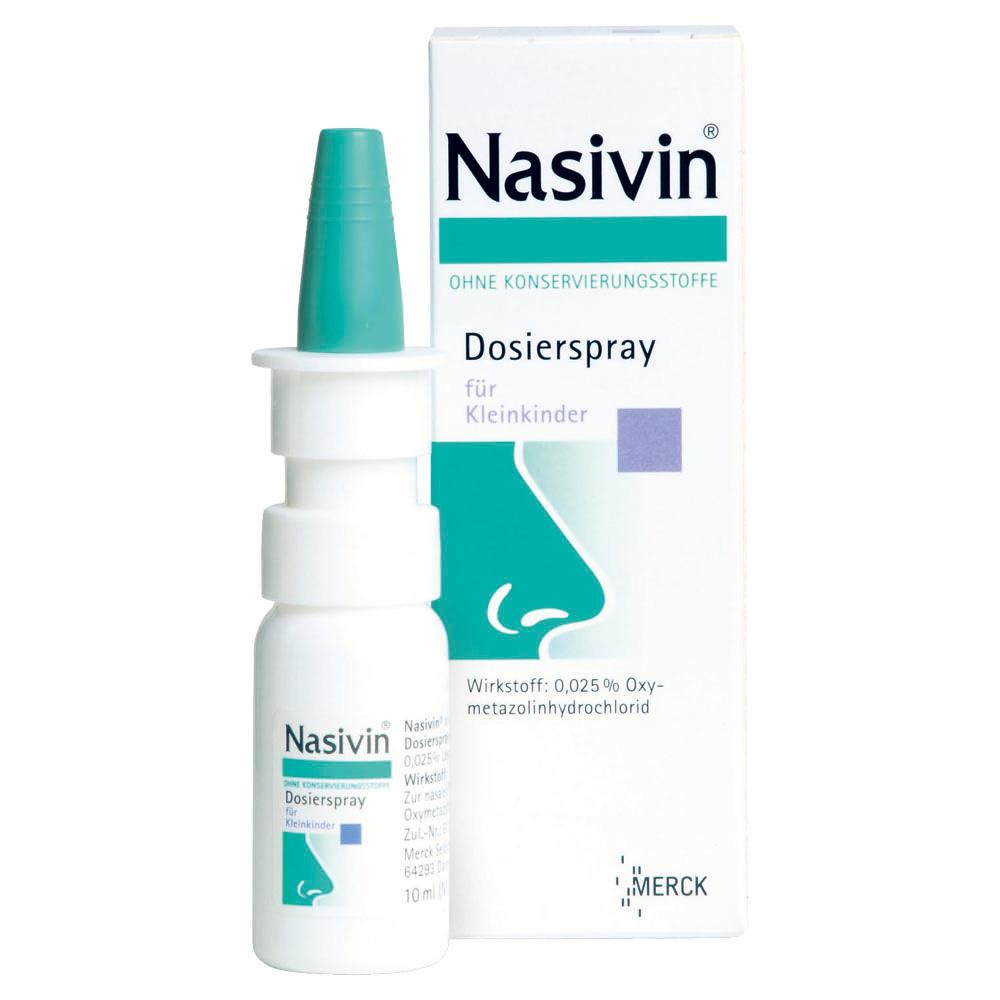 Nasivin® ohne Konservierungsstoffe Dosierspray PZN: 1170477