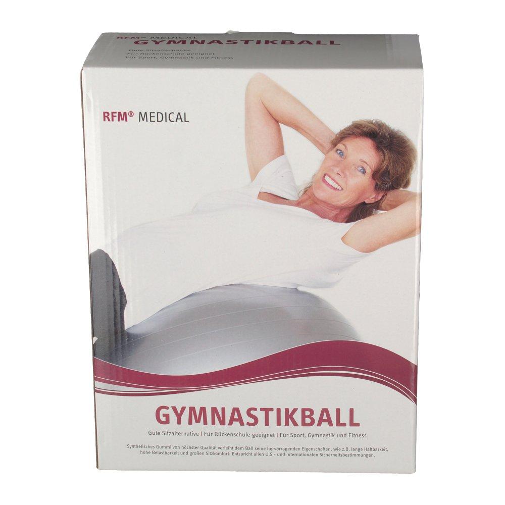 gymnastikball rehaforum 75 cm blau metallic shop. Black Bedroom Furniture Sets. Home Design Ideas
