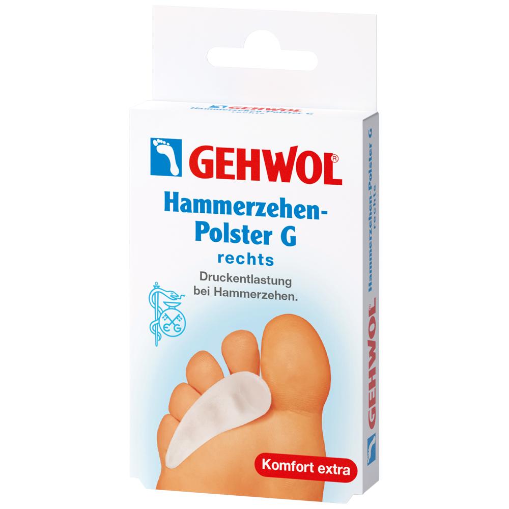 Gehwol® Polymer Gel Hammerzehen-Polster G rechts PZN: 3444223