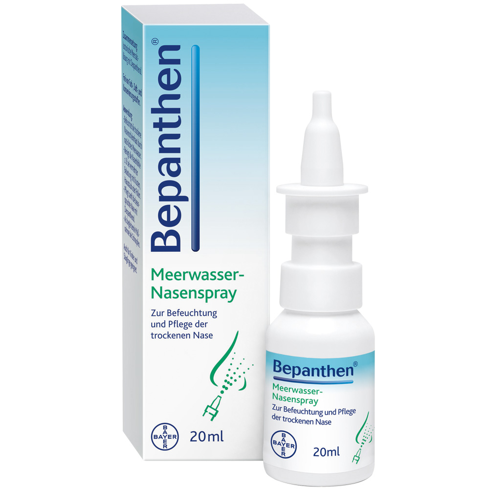 Bepanthen® Meerwasser Nasenspray - shop-apotheke.at